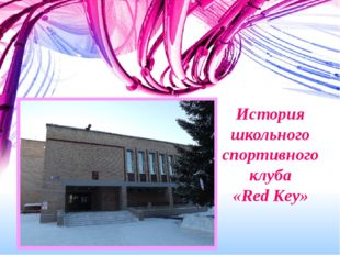 История школьного спортивного клуба «Red Key»