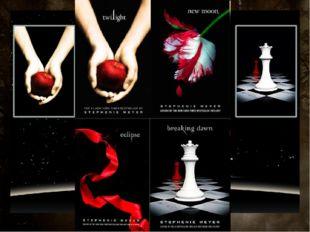 Contest Twilight saga film consists of 4 parts: Twilight New Moon Eclipse Bre