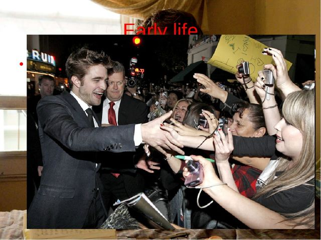 Early life Pattinson was born in London. His mother, Clare, worked for a mode...