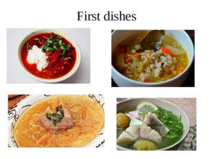 "Traditional Russian cuisine ""What have you learnt at our lesson?"" ""Was the le"