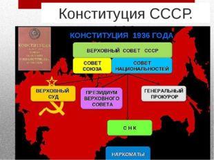 Конституция СССР. 1936 г.