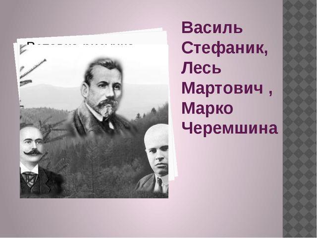 Василь Стефаник, Лесь Мартович , Марко Черемшина