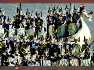 В 9 веке на Шетландские острова, что рядом с побережьем Шотландии, напали вик