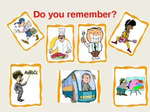 Do you remember?