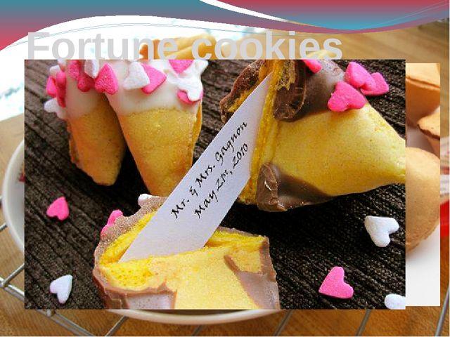 Fortune cookies Печенье с предсказаниями (печенье Удачи, печенье Счастья, For...