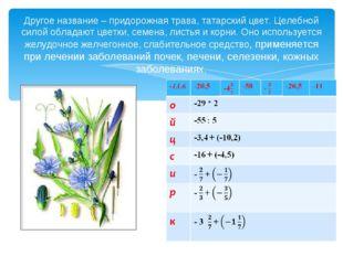 Другое название – придорожная трава, татарский цвет. Целебной силой обладают