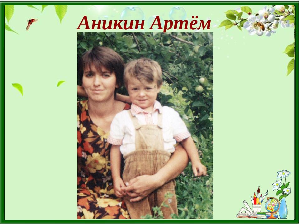 Аникин Артём