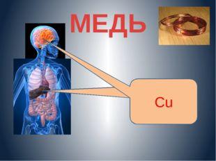 МЕДЬ Cu Cu