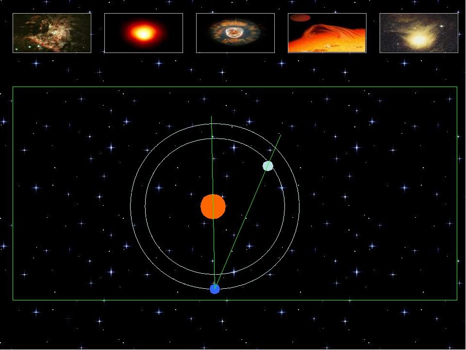 Тест по астрофизике Вопрос 15 А. Элонгация Б. Эклиптика В. Эксцентриситет Уг...