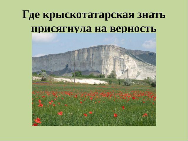 Как назывался мирный договор, по которому Османская империя признала Крым вла...