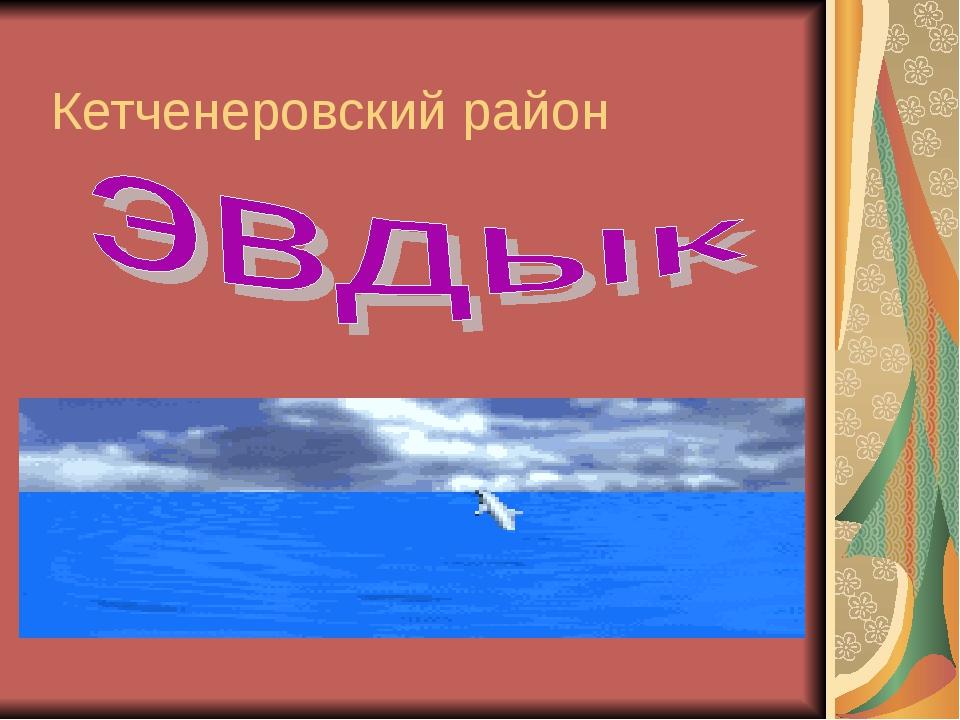 Кетченеровский район