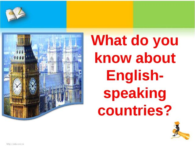 What do you know about English-speaking countries?