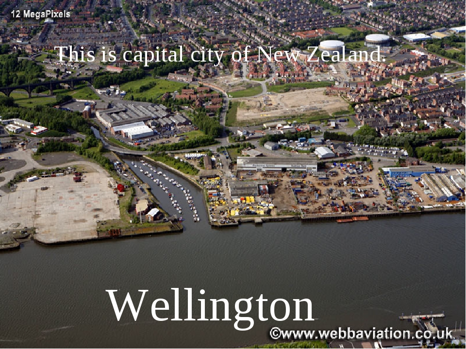 This is capital city of New Zealand. Wellington