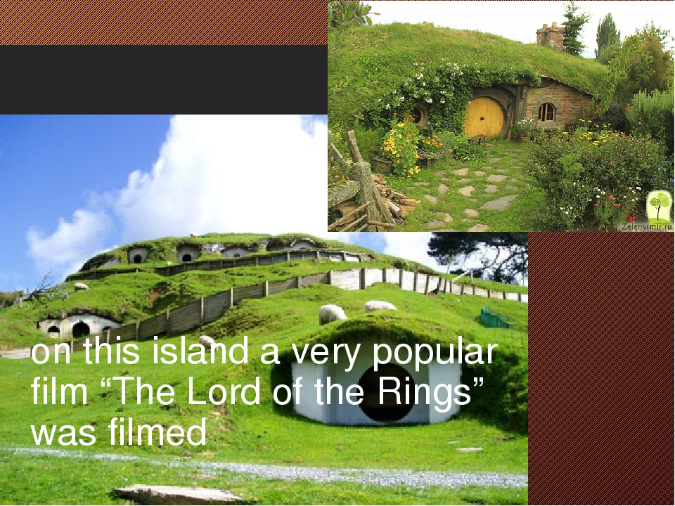 """on this island a very popular film """"The Lord of the Rings"""" was filmed"""