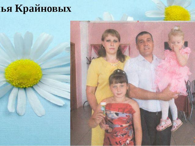 Семья Крайновых На свете нет, пожалуй, более важного и замечательного союза м...