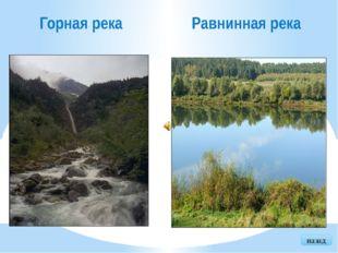 выход Исток Начало реки. Устье Место впадения реки в другую реку, озеро или м