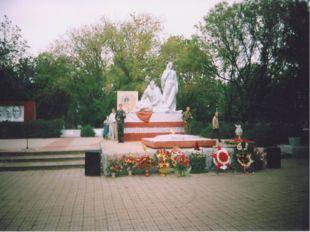 Погибшим в годы Великой Отечественной войны пожарным – жителям пос. Прогресс