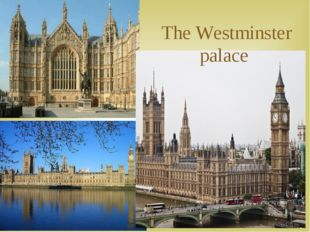 The Westminster palace 