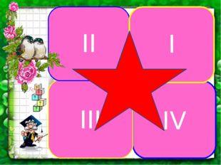 IV III II I