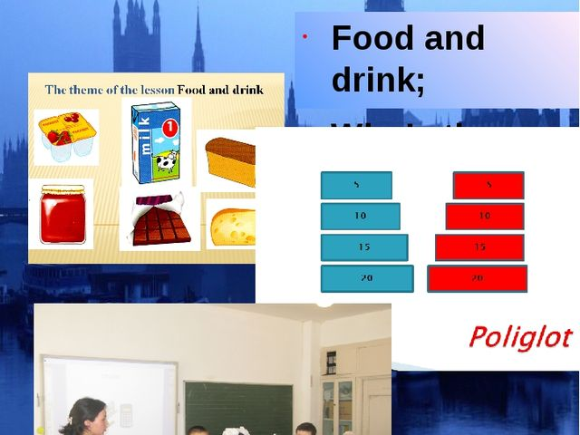 Ашық сабақтар Food and drink; Who's the best?