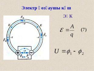 Электр қозғаушы күш ЭҚК ) (7