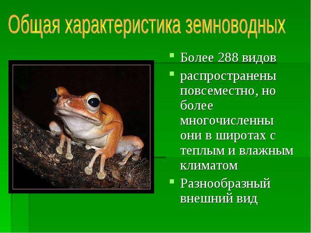 Более 288 видов распространены повсеместно, но более многочисленны они в широ...