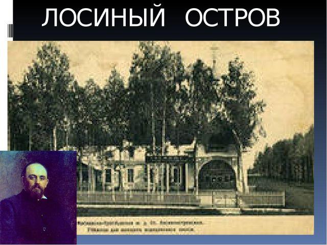 ЛОСИНЫЙ ОСТРОВ
