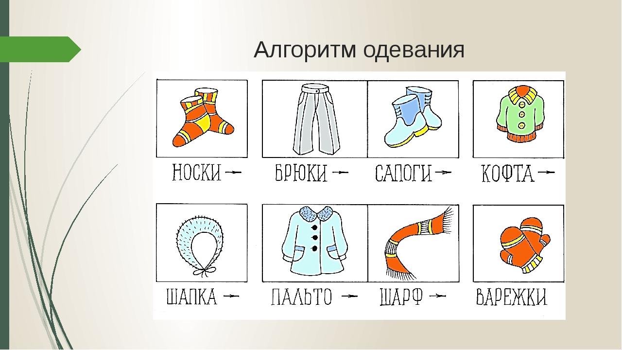 москве картинки с последовательностью одевания начала
