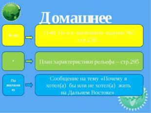 Домашнее задание: П.48. На к.к. выполнить задание №5 стр.239. Сообщение на те