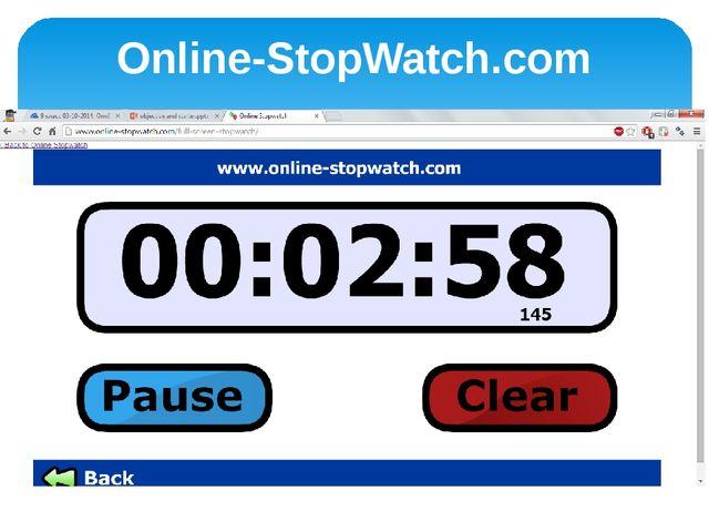 Online-StopWatch.com