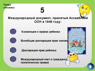 Права человека 8 Конституция РФ 1993 года была принята Референдумом Государст