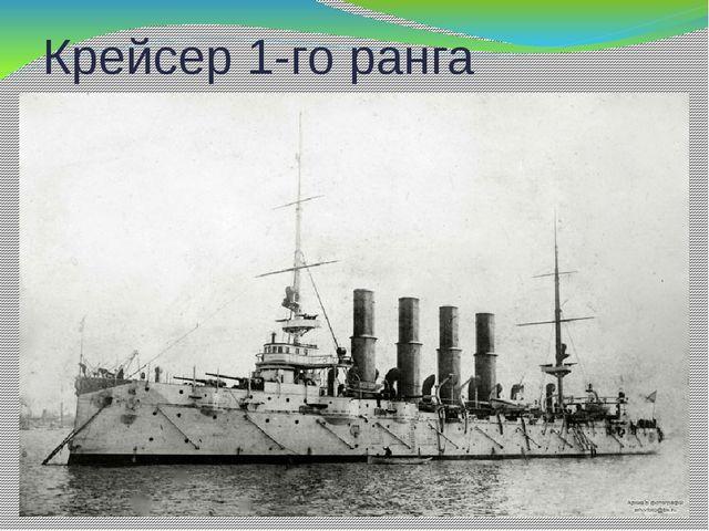 Крейсер 1-го ранга «Варяг»