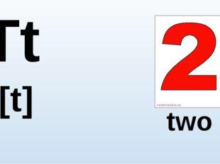Tt [t] two