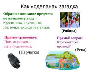 Образное описание предмета по внешнему виду: Красненька, кругленька, Листочки