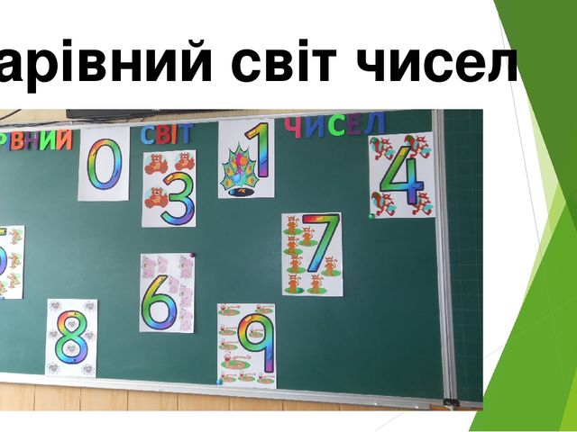 Чарівний світ чисел