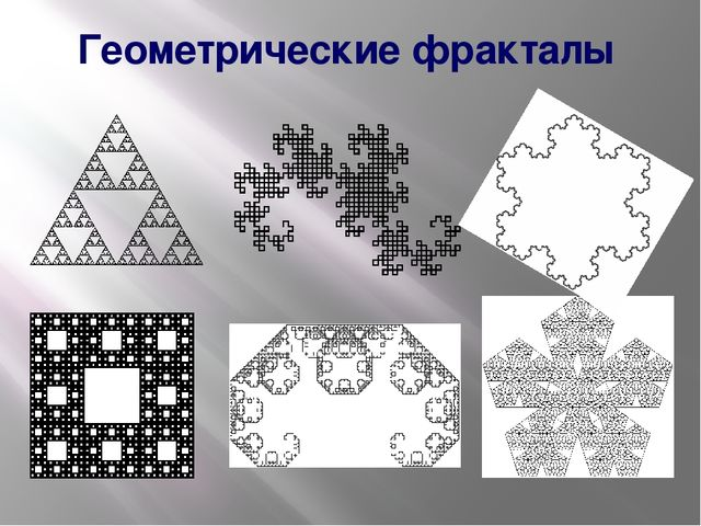 Геометрические фракталы