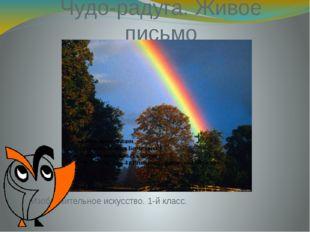 Чудо-радуга. Живое письмо Изобразительное искусство. 1-й класс. Автор презент