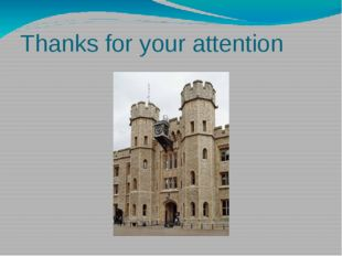 Thanks for your attention I think that you like this presentation. Thanks for