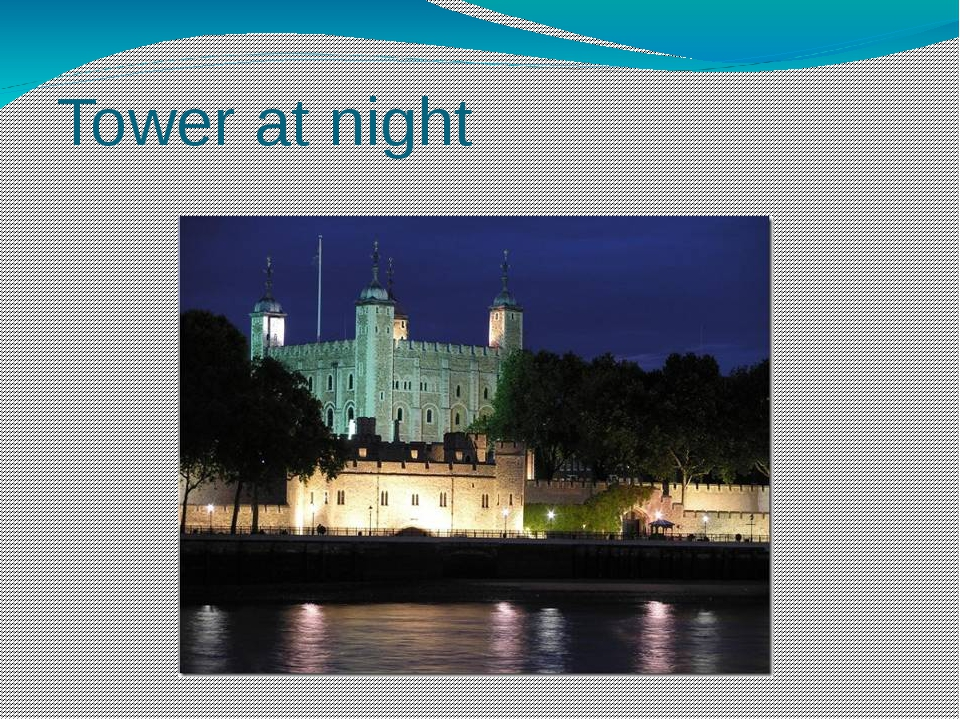 Tower at night At night Tower is as beautiful as during day. Many big lamps l...