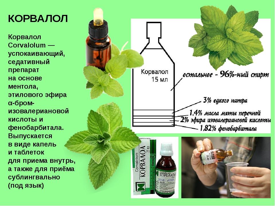 КОРВАЛОЛ Корвалол Corvalolum— успокаивающий, седативный препарат на основе м...