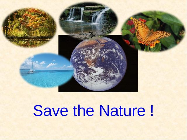 Save the Nature !