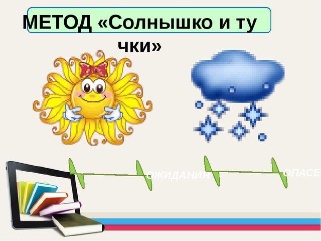 МЕТОД «Солнышко и тучки» ОЖИДАНИЯ ОПАСЕНИЯ