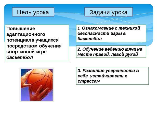 Цель урока 3. Развитие уверенности в себе, устойчивости к стрессам Повышение...