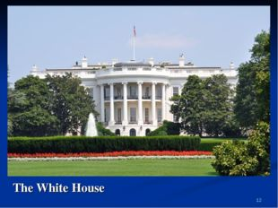 * The White House