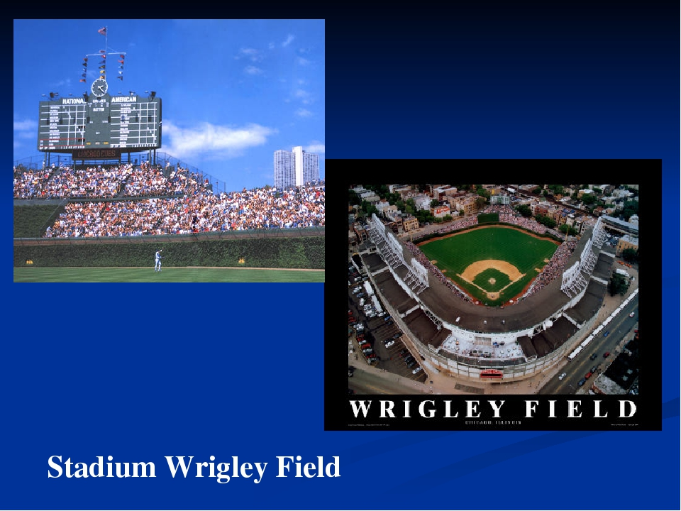 Stadium Wrigley Field