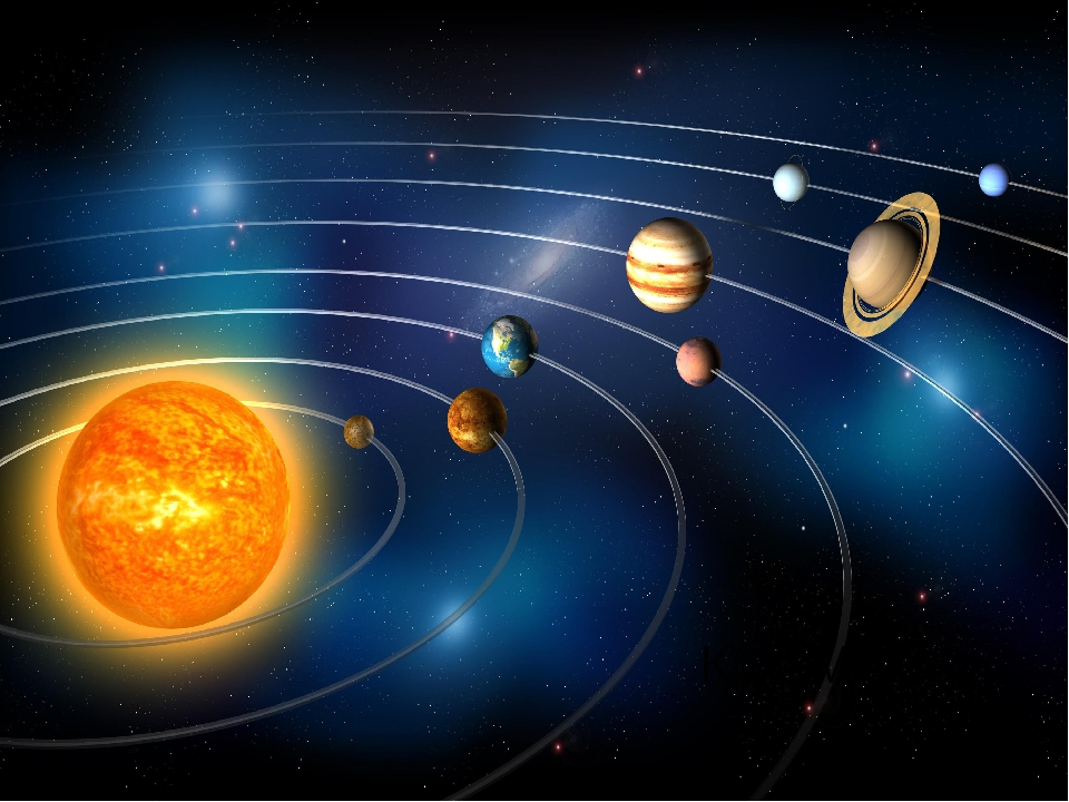 Состоит из точек свет, Полна горница планет. КОСМОС