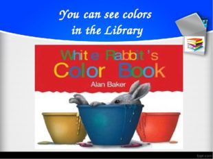 You can see colors in the Library