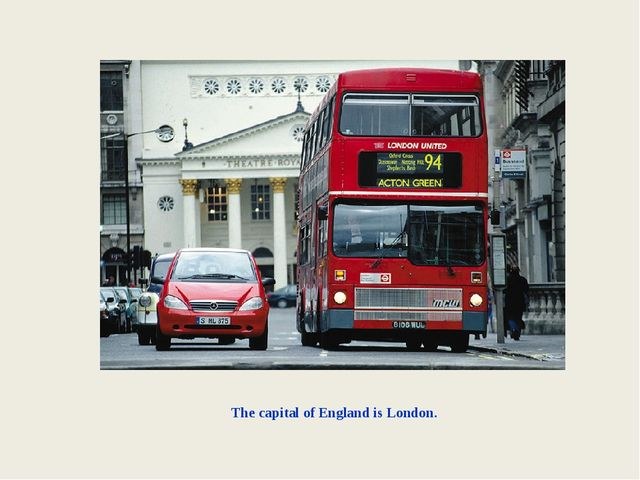 The capital of England is London.