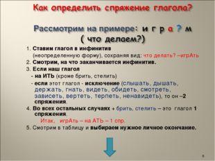 1. Ставим глагол в инфинитив (неопределенную форму), сохраняя вид: что делат