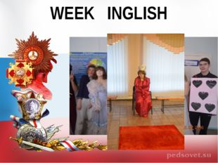 WEEK INGLISH